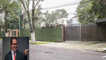Duarte construía mansión en las Lomas