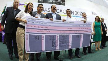 Otorga Gobierno Ciudadano base a 2 mil 150 empleados de Salud