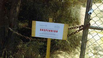 Profepa clausura y suspende actividades de relleno en Santiago