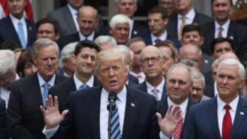 Senado reabre, por un voto, debate sobre Trumpcare