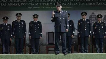 Único partido de Fuerzas Armadas es México: Cienfuegos