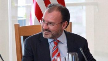Videgaray se reúne con equipo de Trump en la Casa Blanca