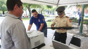 Mantendrán canje de armas en Monterrey hasta diciembre