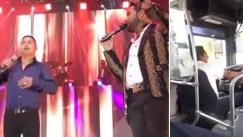 'Pesero con el corazón' roto dejó el microbús y canta con Banda MS