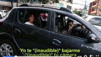 Ari Santillán es agredido otra vez por defender el carril de ciclistas en la CDMX (VIDEO)