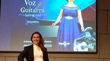 La soprano Patricia Santos ofrecerá concierto en MHM