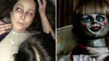 Mujer es poseída por espíritu tras ver la película de 'Annabelle'