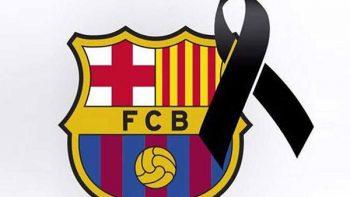 Club Barcelona prepara homenaje a víctimas