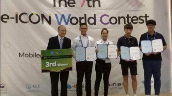 CONALEP NL destaca en mundial de Informática en Corea