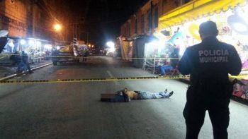 Asesinan a dos personas en el Centro Histórico de Oaxaca