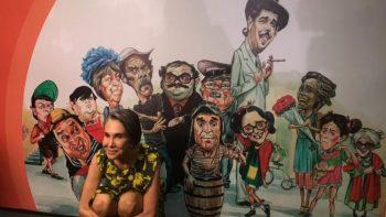 Florinda Meza inaugura exposición dedicada a 'Chespirito'