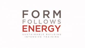 Curso internacional se enfoca en proceso de diseño sustentable, donde la forma sigue a la energía
