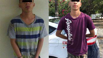 Detienen policías de Guadalupe a dos presuntos narcodistribuidores