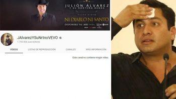YouTube y Spotify borran el contenido musical de Julión