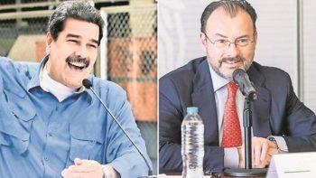 Riñen Maduro y Videgaray