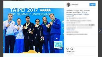 Taekwondo da dos bronces para México en Universiada Mundial