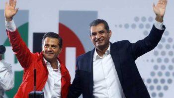 Recibe Peña Nieto a Ochoa Reza en Los Pinos