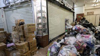 Aseguran 8 establecimientos comerciales y productos 'pirata' en CDMX