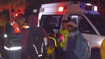 Rescatan a nueve personas que se extraviaron en el Ajusco