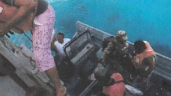 Rescata Semar a 5 pescadores en Yucatán