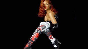 Rihanna lanza calcetas con su imagen