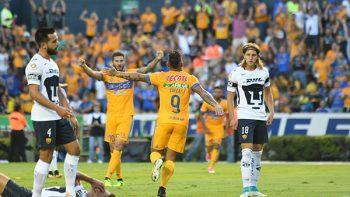 Tigres dominó 2-0 a unos Pumas sin 'garra'