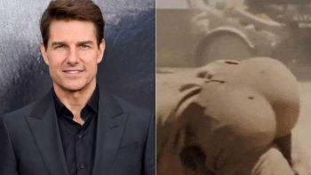 ¿Realidad o rellenos? El trasero de Tom Cruise da de qué hablar