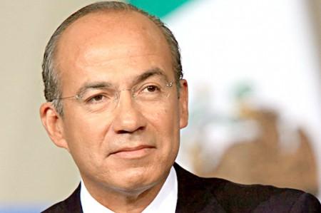 Felipe Calderón presenta proyecto sobre cambio climático