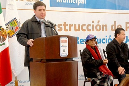Alcalde y gobernador inauguran obras viales en el sur de Monterrey