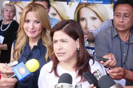Confirma Margarita tendencia ganadora en Monterrey