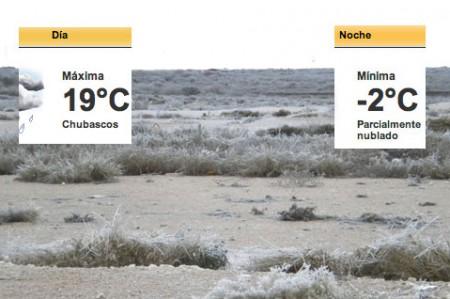 De nuevo a -2 grados llegará a Reynosa el miércoles