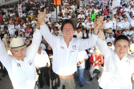 En Río Bravo cierran campaña con Gabriel