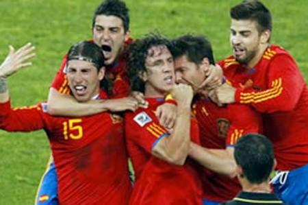 España muestra su garra y vence 1-0 a Alemania; habrá nuevo campeón