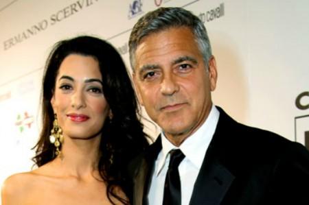 George Clooney celebra en Inglaterra otra fiesta nupcial