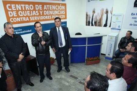 Inauguran centro regio para quejarse ¡de burócratas!