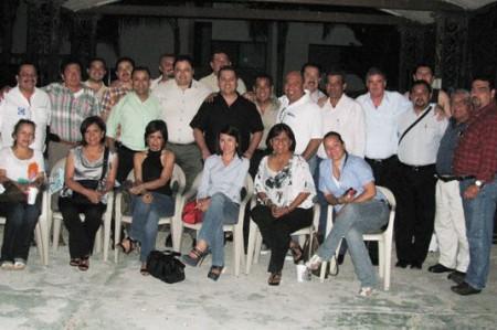 Inicia Garza de Coss campaña para reelegirse como dirigente del PAN
