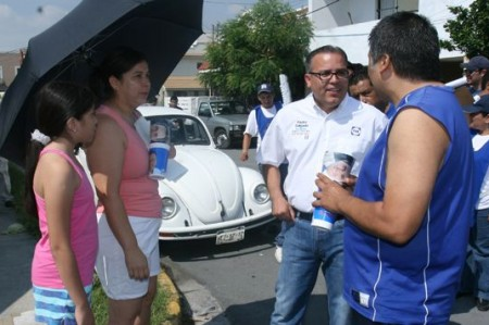 Las familias estarán unidas en San Nicolás: Pedro Salgado