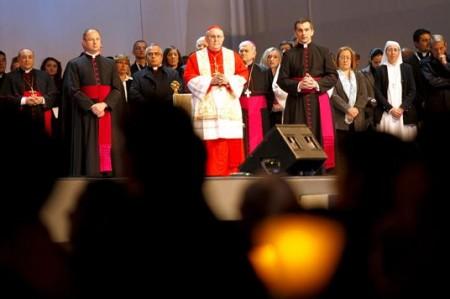 México y Roma se enlazan en vigilia por beatificación de Juan Pablo II