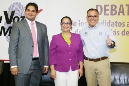 Ofrece Pedro Delgado propuestas en debate ciudadano