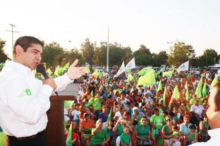 Piden confianza candidatos del Verde en cierre de campaña