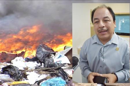 Que ahora sí multarán en Reynosa a quienes quemen basura