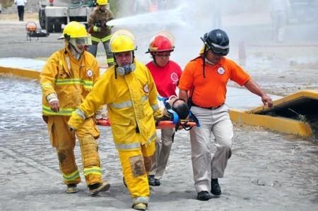 Pemex realiza simulacro en instalaciones de Llera