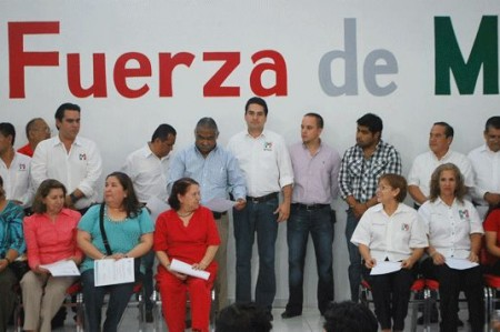 Realizan segunda entrega de nombramientos del PRI en Reynosa
