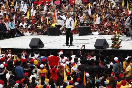 Realizará López Obrador cierre de campaña en dos estados