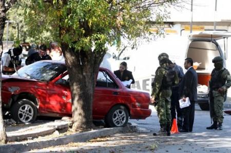 Se enfrentan a balazos afuera de una escuela de Nuevo León