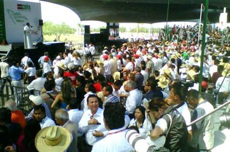 Todo listo para que Enrique Peña Nieto llegue a Reynosa