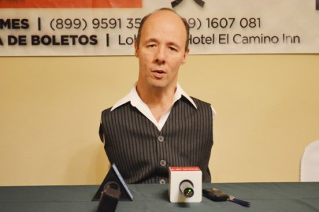Gabriel Nájera invita a no tener límites en la vida