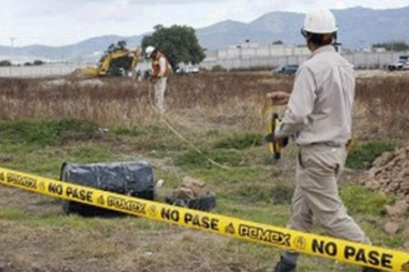 Pemex controla derrame de gasolina en Matamoros