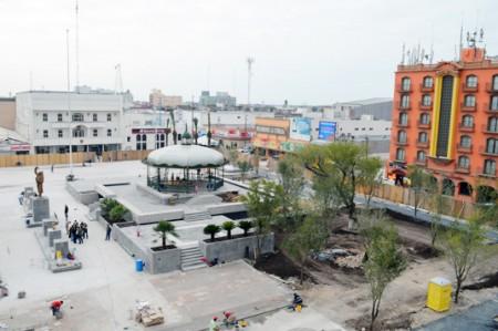 Plaza principal estará lista el 11 de diciembre: Pepe Elías; video