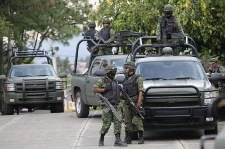 Un niño herido en ataque a militares en Matamoros